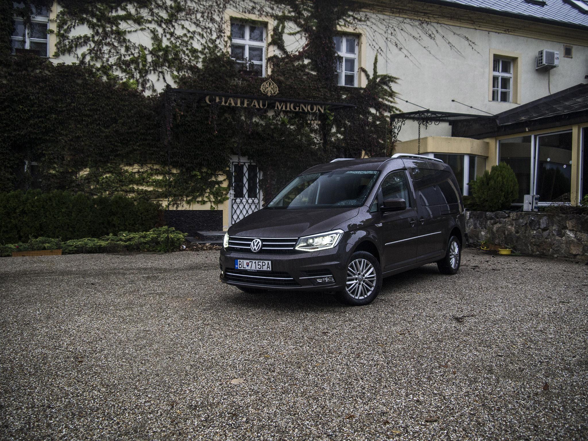test volkswagen caddy maxi highline viac luxusu pre. Black Bedroom Furniture Sets. Home Design Ideas