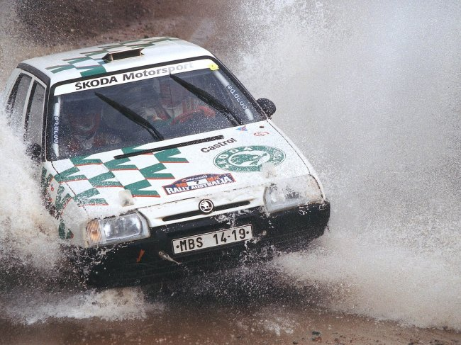 07 - Škoda Favorit 136 L Skupina A 1994