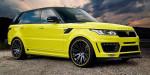 Range Rover po krk v extázi