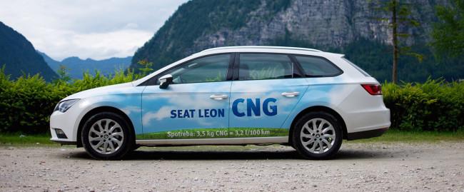 Test Seat Leon ST 1.4 TGI CNG: Hlavne nenápadne a skromne
