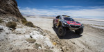 Stephane Peterhansel (FRA) of Team Peugeot-Total races during stage 06 of Rally Dakar 2016 around Uyuni, Bolivia on January 8, 2016 // Marcelo Maragni/Red Bull Content Pool // P-20160108-00369 // Usage for editorial use only // Please go to www.redbullcontentpool.com for further information. //