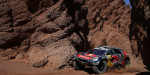 Sebastien Loeb (FRA) from Team Peugeot Total  performs during stage 8 of Rally Dakar 2016 from Salta to Belen, Argentina on January 11, 2016. // Frederic Le Floc'h / DPPI / Red Bull Content Pool  // P-20160112-00049 // Usage for editorial use only // Please go to www.redbullcontentpool.com for further information. //