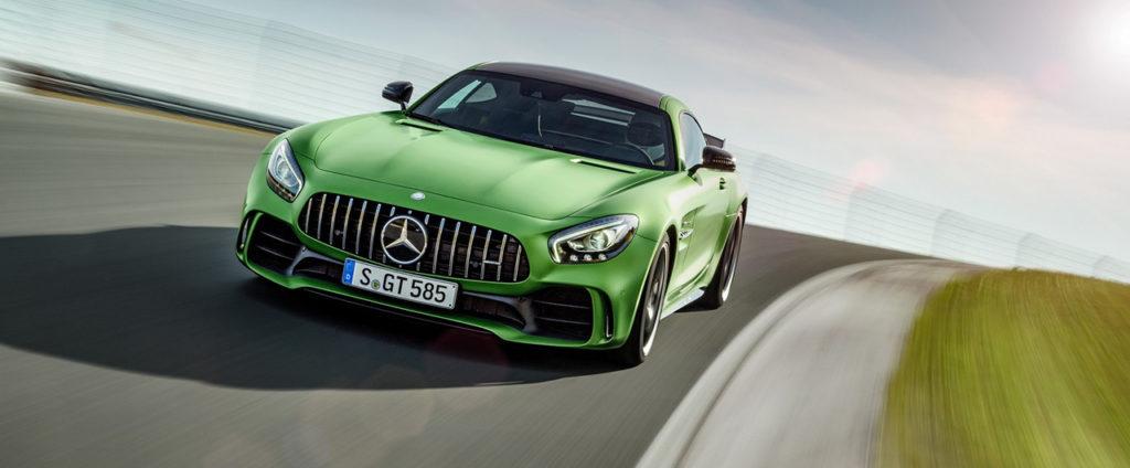Najzelenšie AMG je nový Mercedes-AMG GT R