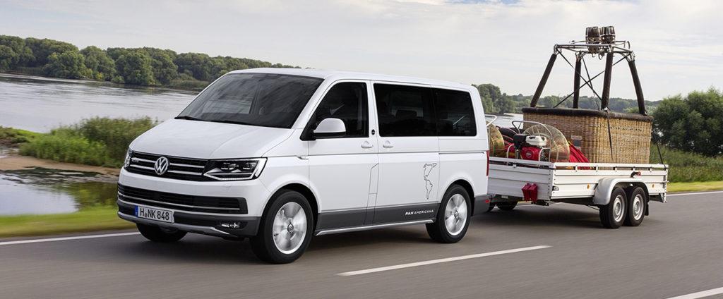 Volkswagen Multivan PanAmericana je terénnym vanom