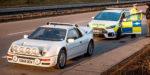Ford s Focusom RS oživil ikonickú policajnú fotku