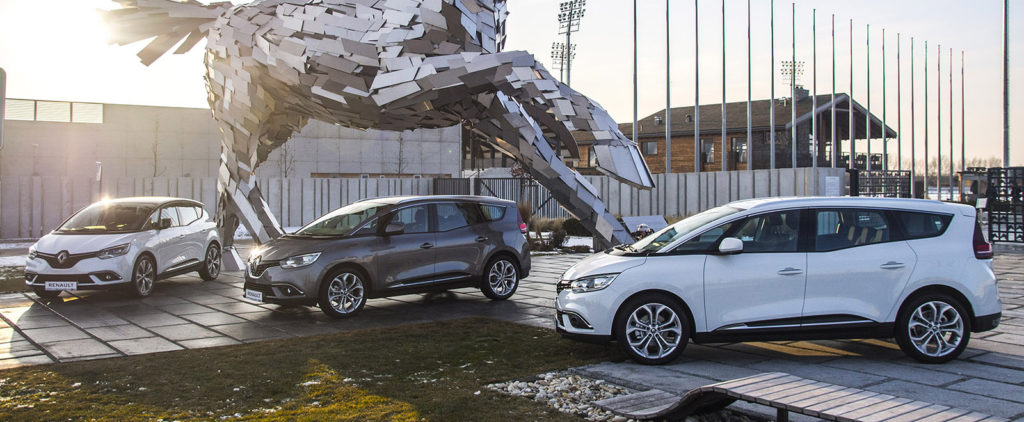 Nový Renault Scénic je komfortný aj na dvadsiatkach diskoch