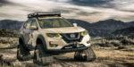 Americký Nissan X-Trail ide proti všetkému s pásmi