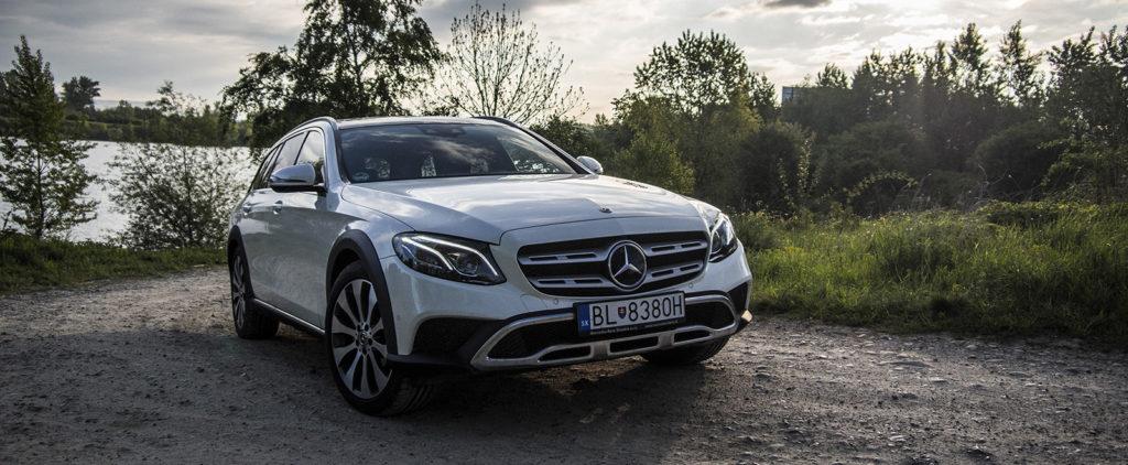 Test Mercedes-Benz E220d All-Terrain: Millenium Falcon