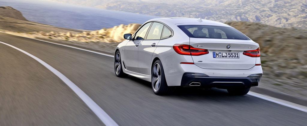 BMW povýšilo 5 GT na 6 GT