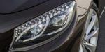 Mercedes-Benz S-Klasse Cabriolet; A 217; Exterieur: designo mokkaschwarz; Scheinwerfer mit LED Intelligent Light System // Exterior: designo mocha black; headlights with LED Intelligent light system