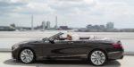 Mercedes-Benz S-Klasse Cabriolet; A 217; Exterieur: designo mokkaschwarz; Interieur: designo Leder porzellan/tizianrot; // Exterior: designo mocha black; Interior: designo leather porcelain/tizian red