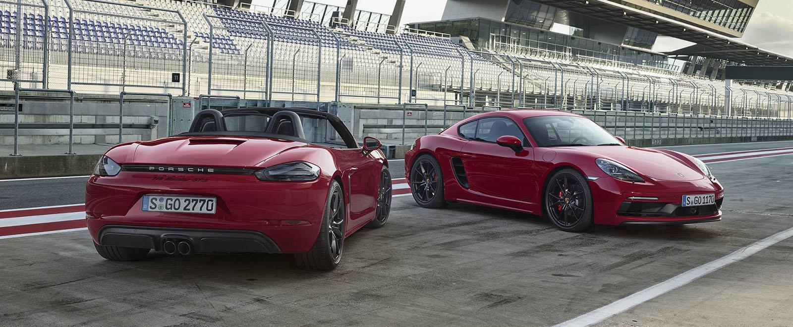Porsche 718 cayman gts je tu ale zase so tvorvalcom