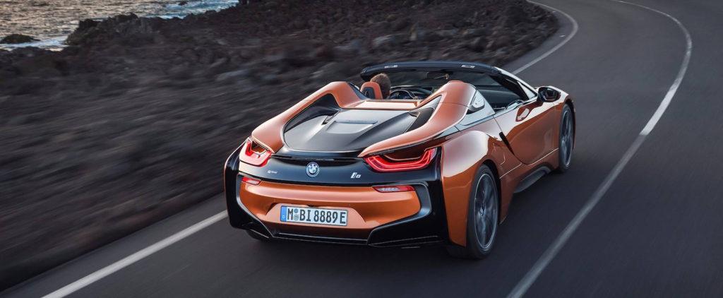Hybridné BMW i8 stratí strechu