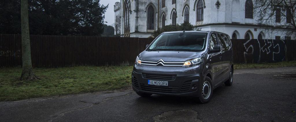 Test Citroën Jumpy Combi: Základná myšlienka na 9