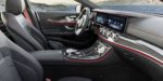 Mercedes-AMG CLS 53 4MATIC+ Interieur: Leder Nappa schwarz mit roten Ziernähten Exterieur: Graphitgrau // Interior: Nappa leather black with red stiching Exterior: Graphite Grey  (Kraftstoffverbrauch kombiniert: 8,4 l/100 km; CO2-Emissionen kombiniert:  200 g/km) (fuel consumption combined: 8.4 l/100 km; CO2 emissions combined: 200 g/km)