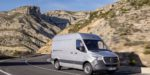 Mercedes-Benz Sprinter Kastenwagen – Exterieur, Brillantsilber Metallic, Hinterradantrieb 