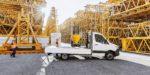 Mercedes-Benz Sprinter Pritsche – Exterieur, Arktikweiß, Hinterradantrieb Mercedes-Benz Sprinter pickup – Exterior, arctic white, Rear-wheel drive