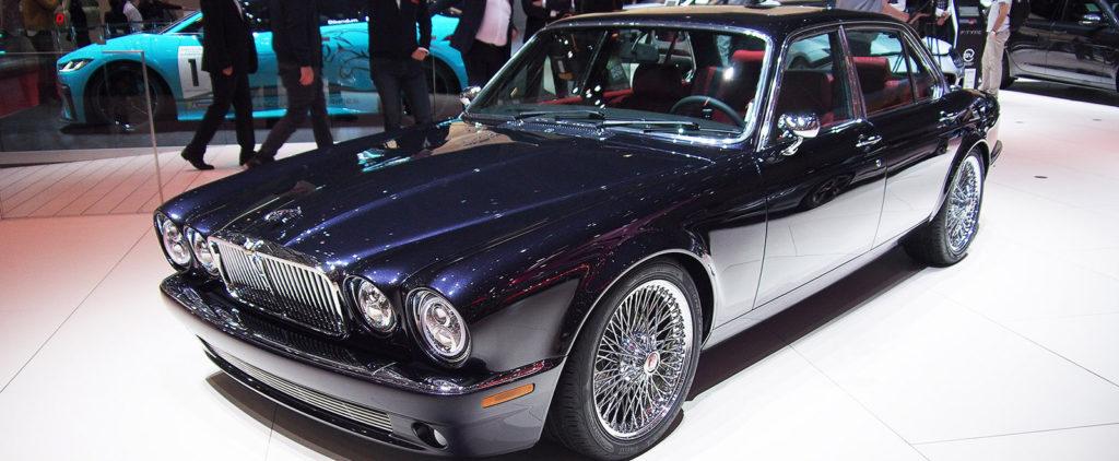 Najlepšie nové auto v Ženeve bol starý Jaguar