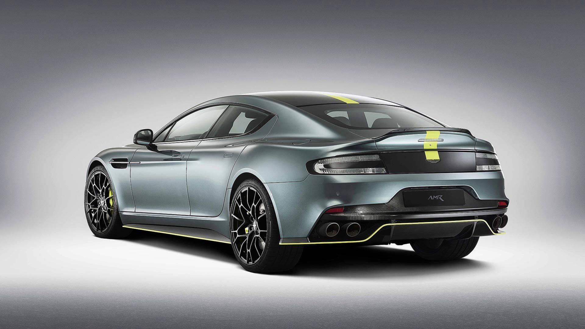 Aston Martin pridal Å¡tipku korenia aj Å¡tvordverovému Rapide