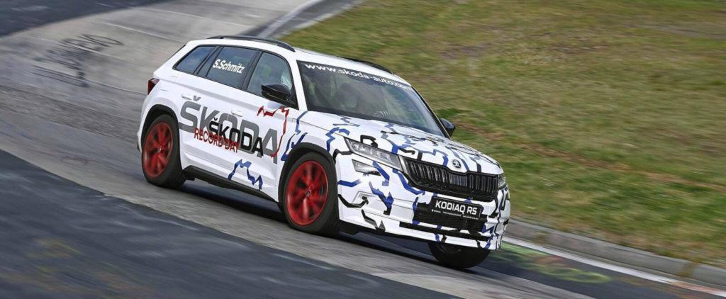 Škoda Kodiaq RS má rekord na Nürburgringu (nie, výkričník naozaj nedáme)