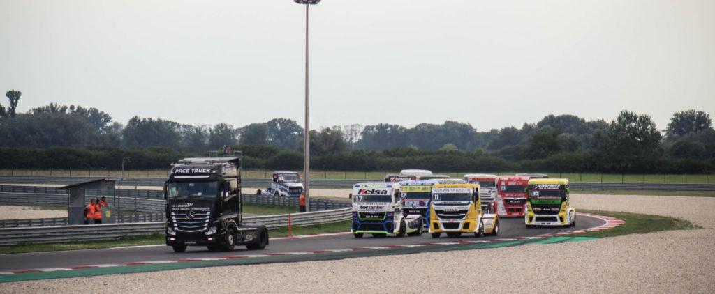 Report: FIA ETRC Truck race