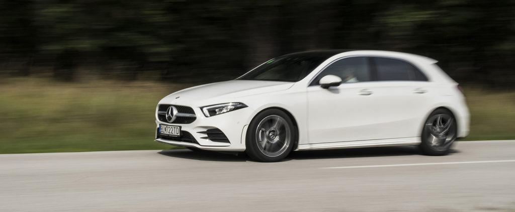 Prvá jazda Mercedes-Benz triedy A: Už nikdy nebudete sami