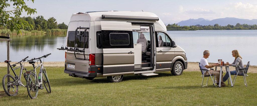 Volkswagen Grand California má všetko na #vanlife