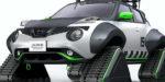 Nissan Juke ako snežný skúter a pár ďalších šialeností