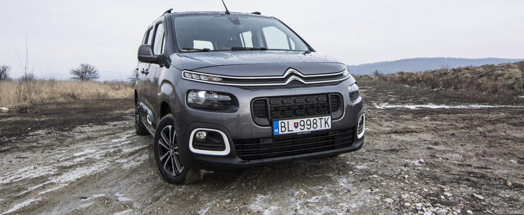 Test Citroën Berlingo BlueHDI 100: Rodina-biznis-daily