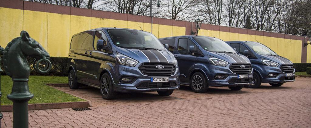 Ford posilní Transit Custom Sport a pridá hybrid