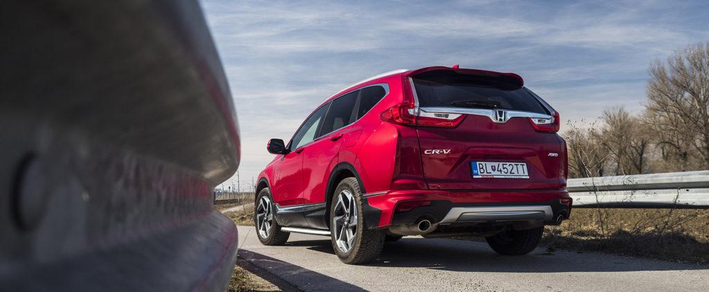 Test Honda CR-V AWD CVT: To isté nemusí byť to isté