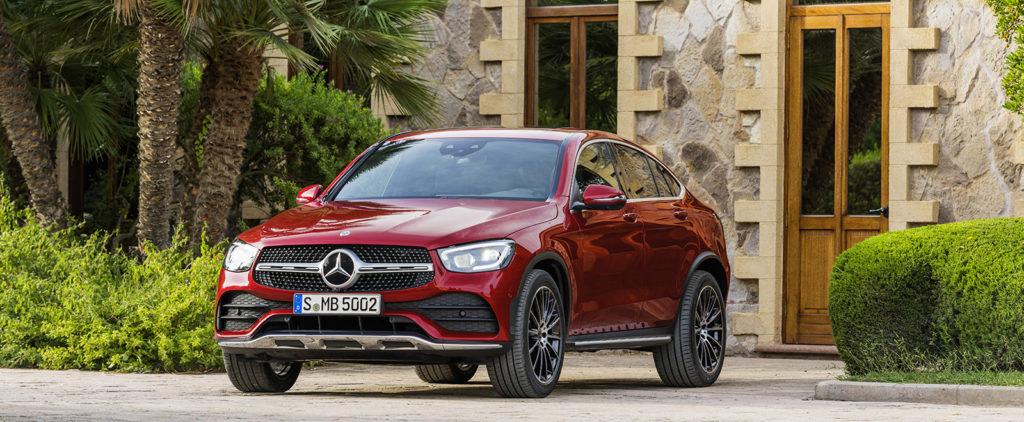 Mercedes predviedol retuše GLC kupé
