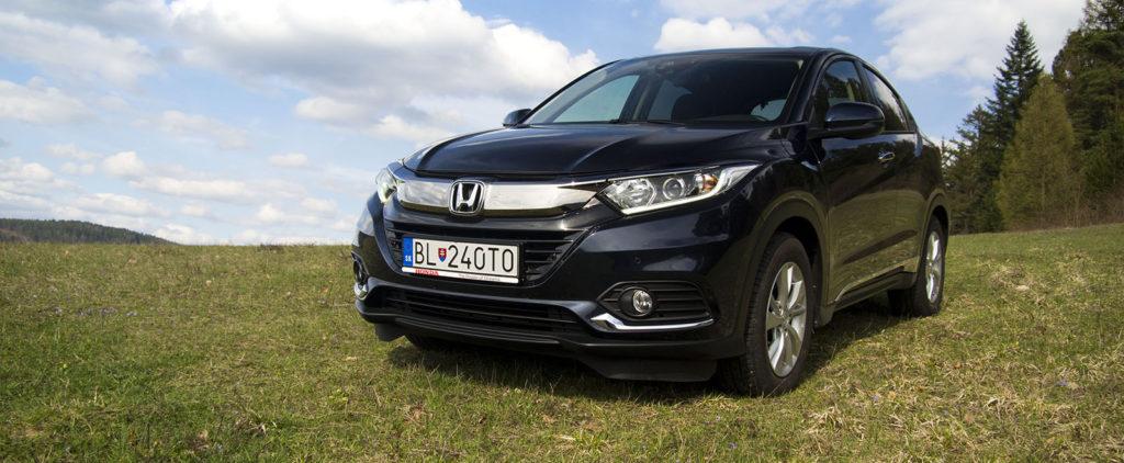 Test Honda HR-V 1,5 i-VTEC MT: Menej je niekedy viac