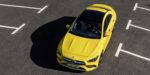 Mercedes-AMG CLA 35 4MATIC, Kraftstoffverbrauch kombiniert: 7,3-7,2 l/100 km; CO2-Emissionen kombiniert: 167-164 g/km // Fuel consumption combined: 7.3-7.2 l/100 km; combined CO2 emissions: 167-164 g/km, Sonnengelb // sun yellow