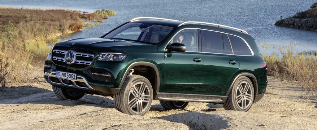 Mercedes GLS bude mať aj režim pre autoumyváreň