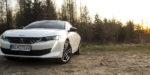 Test Peugeot 508 GT Line: Nadpozemská príťažlivosť