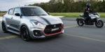 Suzuki Swift Sport sa zaženie Katanou