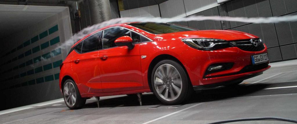 Opel Astra má lepšiu aerodynamiku a úspornejšie motory