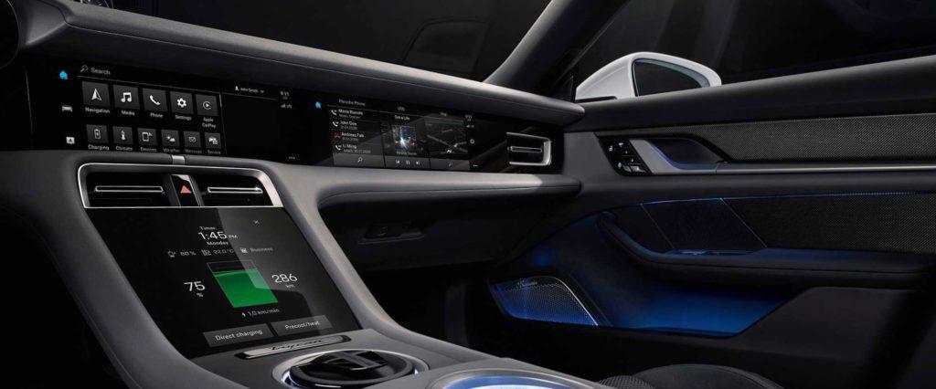 Porsche Taycan ukázalo plne digitálny kokpit