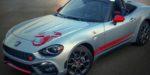 Fiat 124 Abarth s novou grafikou