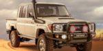 Toyota Land Cruiser Namib pre Južnú Afriku