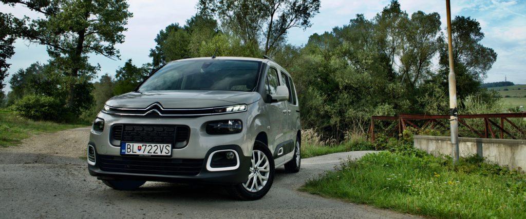 Test Citroën Berlingo BlueHDI130: Automat a najsilnejší motor sú tou správnou voľbou