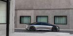 Mercedes-Benz VISION EQS, IAA 2019, der VISION EQS zeigt  einen Ausblick auf ein Konzept eines vollelektrischen Fahrzeugs der Luxusklasse. // Mercedes-Benz VISION EQS, IAA 2019, the VISION EQS provides an outlook on a concept for a fully-electric vehicle in the luxury class.