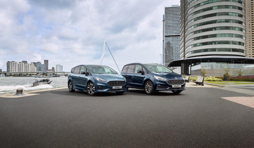 Ford S-Max a Galaxy pokračujú ďalej s faceliftom